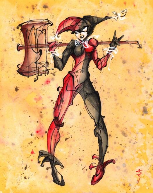 Harley Quinn by Sara Richard