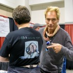 Julian Sands with Illustrator X