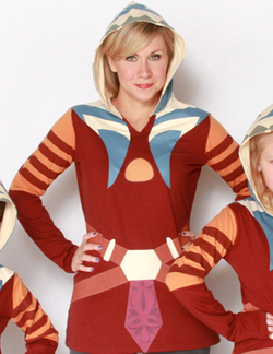 Ashley in the Ahsoka Tano hoodie available at HerUniverse.com